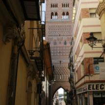 Las torres mudéjares de Teruel tienen puertas