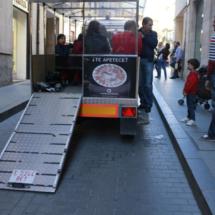 El Tren Turístico de Teruel es accesible.