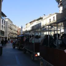 El Tren Turístico de Teruel recorre los emplazamientos más importantes