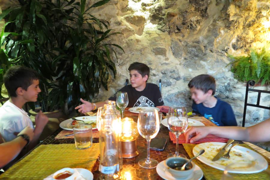 Restaurante el jard n del califa en vejer de la frontera - El jardin del califa vejer de la frontera ...
