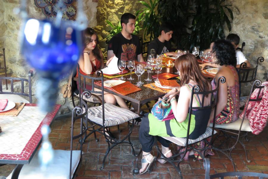 restaurante el jard n del califa en vejer de la frontera