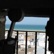 Vistas desde el campanario de Conil