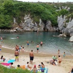 Playa de Gulpiyuri: cómo es y dónde está