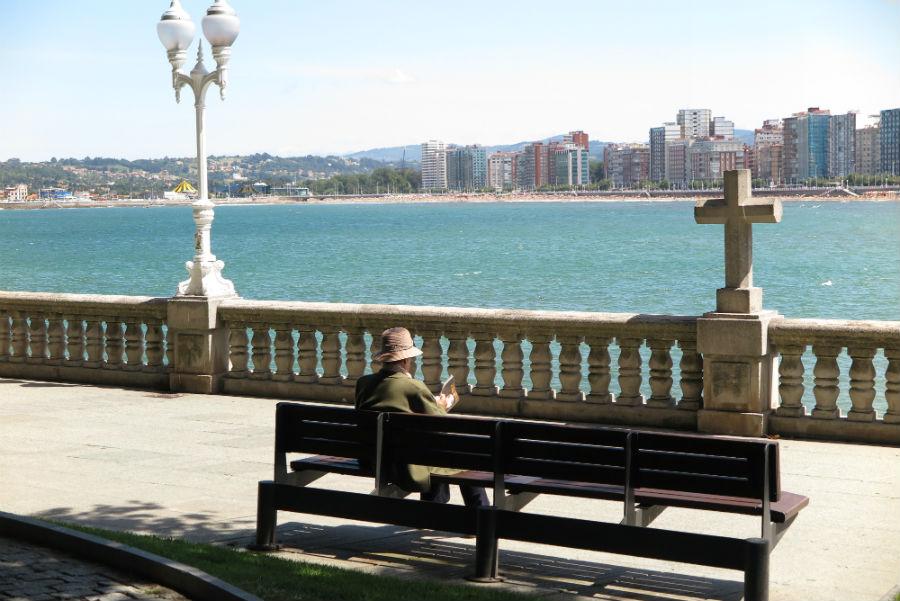 Casco antiguo de Gijón