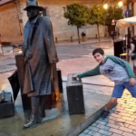 Ruta de las estatuas en Oviedo