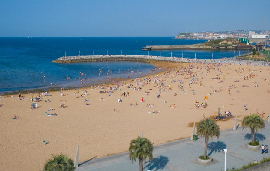 Las playas de gij n en asturias - El tiempo gijon detallado ...