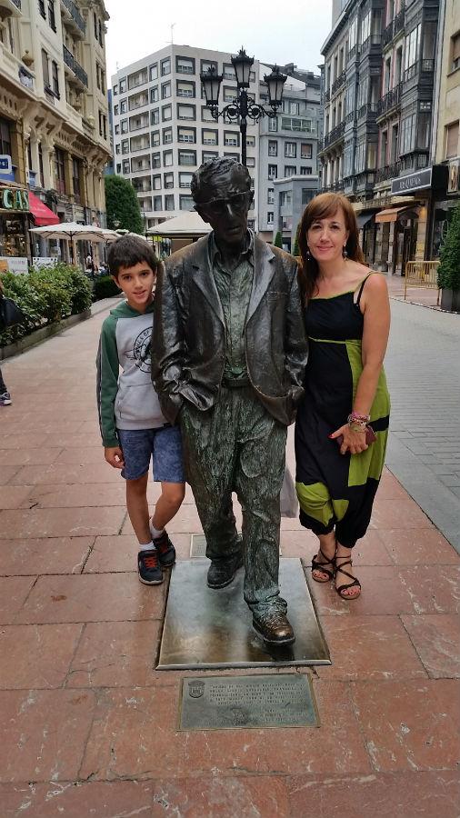 Foto con Woody Allen