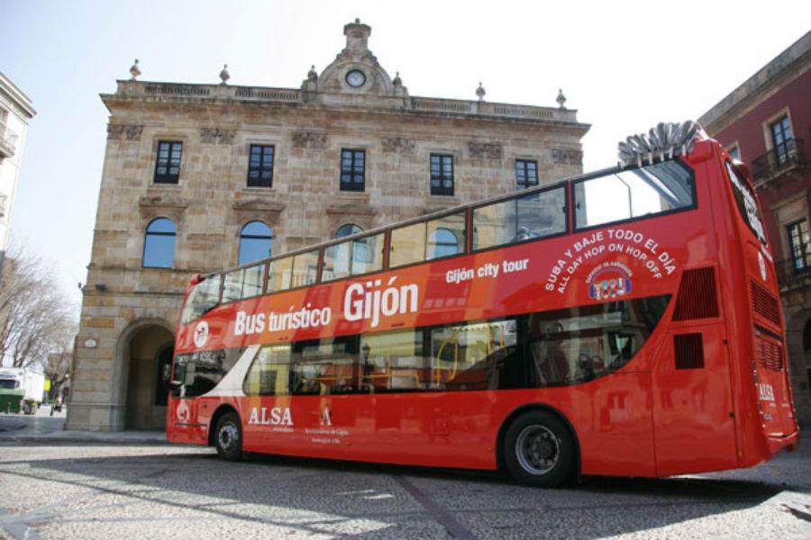 Bus turístico de Gijón