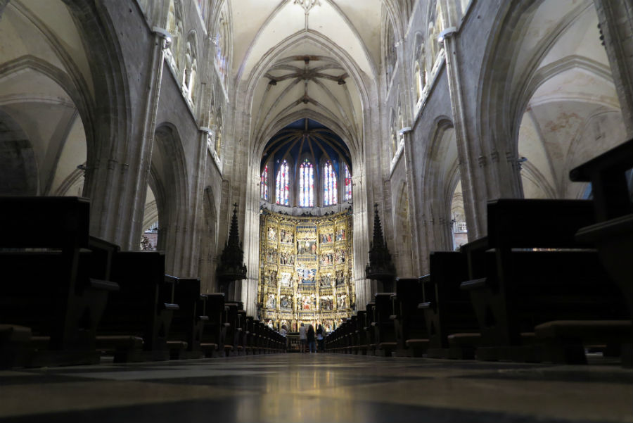 Altar mayor de la Catedral de Oviedo