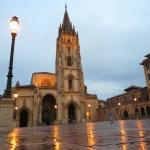 Vista general de la Catedral gótica de Oviedo