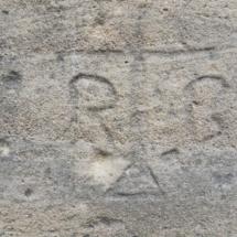 Catedral de Oviedo, graffitis medievales