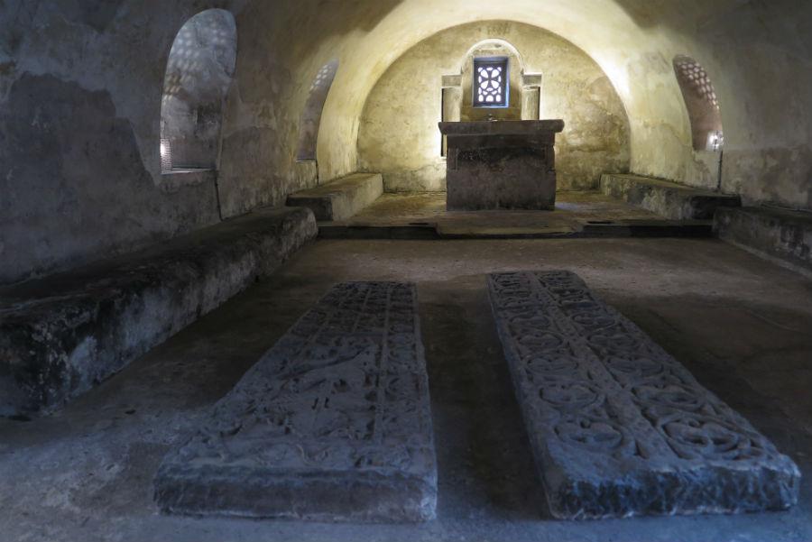Cripta de Santa Leocadia en la Catedral de Oviedo
