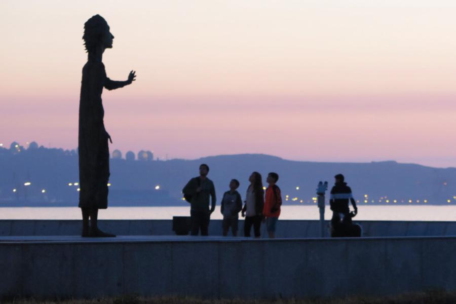 Os proponemos una ruta para ver las esculturas más chulas de Gijón