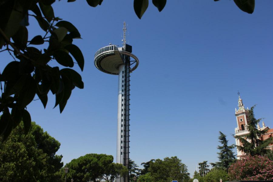 El Faro de Moncloa tiene 110 metros de altura