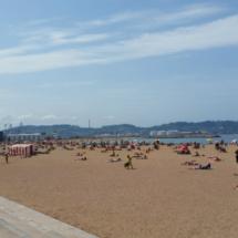 Playa de Poniente de Gijón