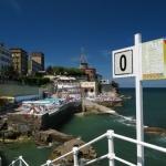 Vistas de Gijón desde su playa