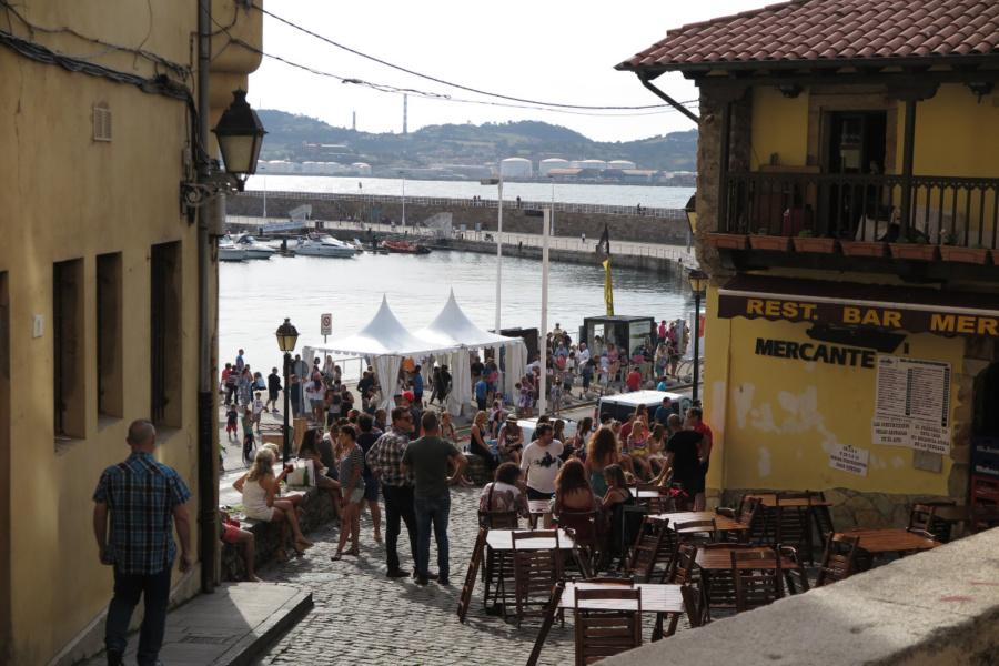 Visitamos una zona de restaurantes en Gijón, ideal para ir con peques