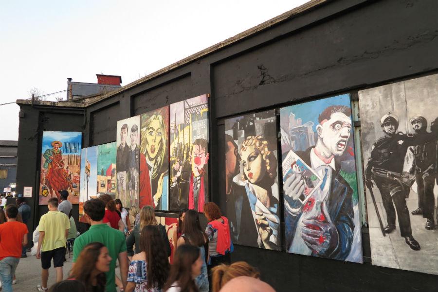 La Semana Negra de Gijón, con niños
