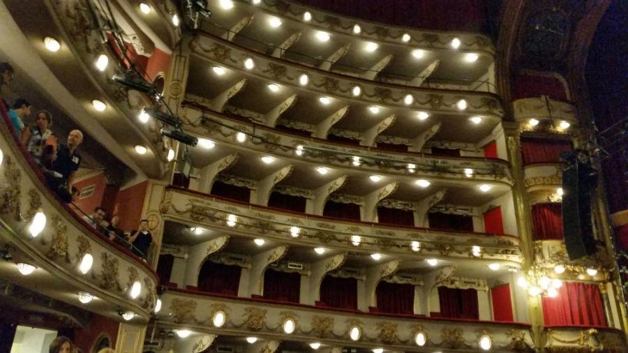 Interior del Teatro Calderón de Madrid