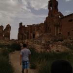 Belchite: un pueblo bombardeado y aún en pie