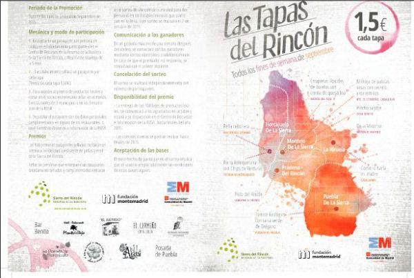 Feria de Tapas Sierra del Rincón, 2015