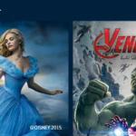 Cenicienta y Los Vengadores: la era del Ultrón, en Movistar+