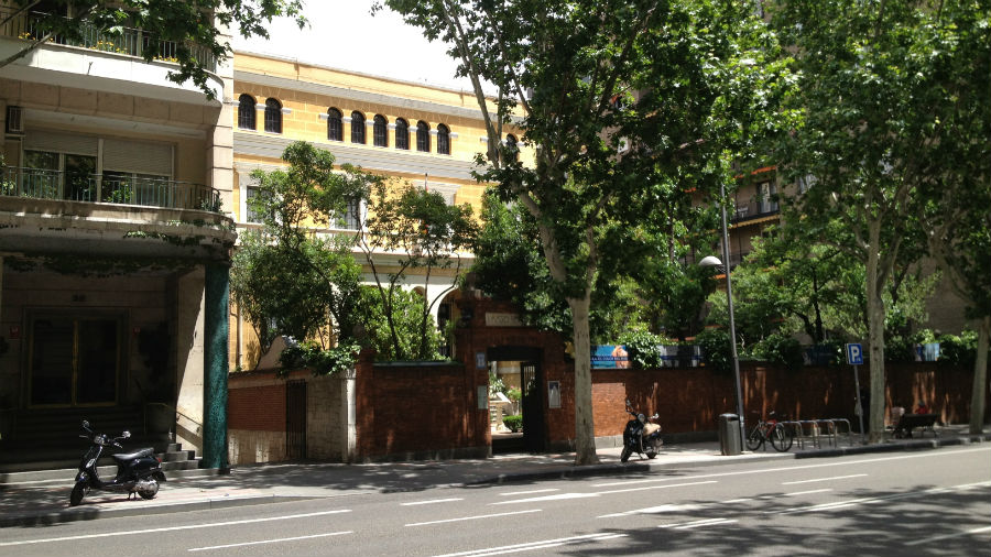 Casa Museo de Sorolla en Madrid: informaciónCasa Museo de Sorolla en Madrid.
