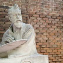 Casa Museo de Sorolla en Madrid: busto de Joaquín Sorolla