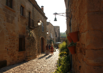 Peratallada, puelo medieval en Girona