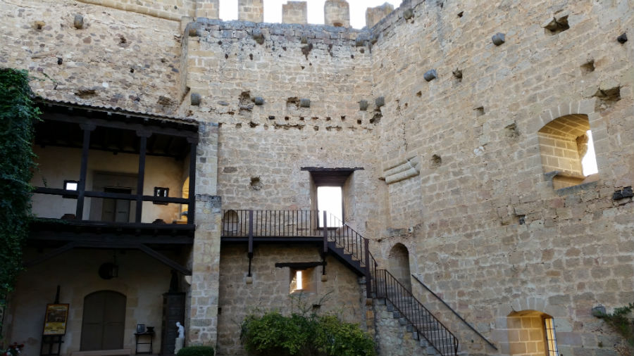 Muralla del Castillo de Pedraza