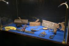 Objetos y herramientas recuperadas del Titanic