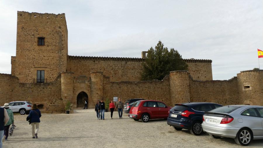 Parking del Castillo de Pedraza