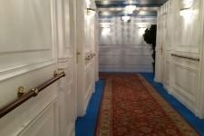 Reproducción de un pasillo del Titanic