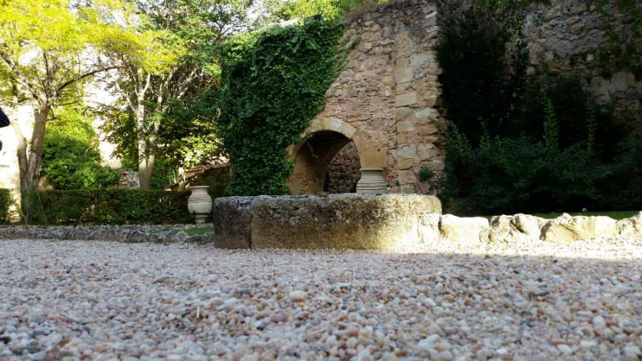 Patio de armas del Castillo de Pedraza