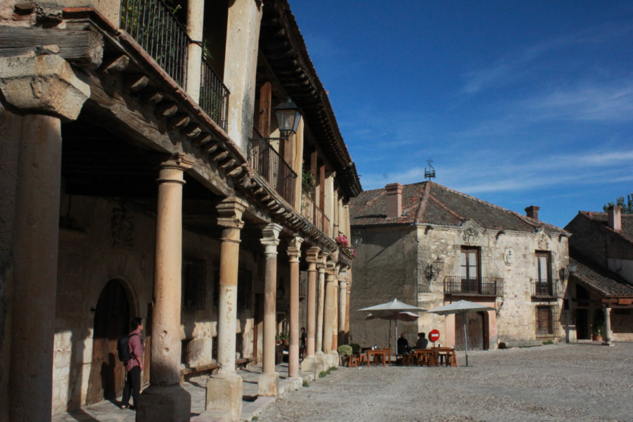 Soportal de la Plaza de Pedraza