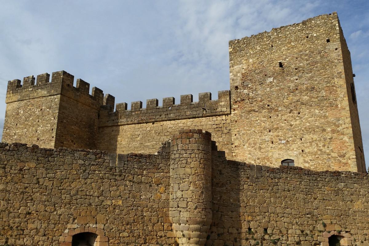 Torres del Castillo de Pedraza, en la provincia de Segovia