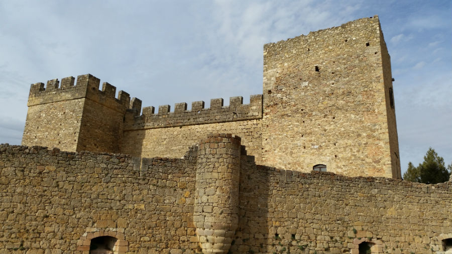 Torres del Castillo de Pedraza