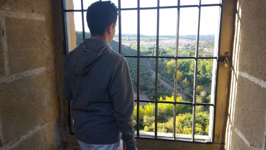 Vistas desde el Castillo de Pedraza