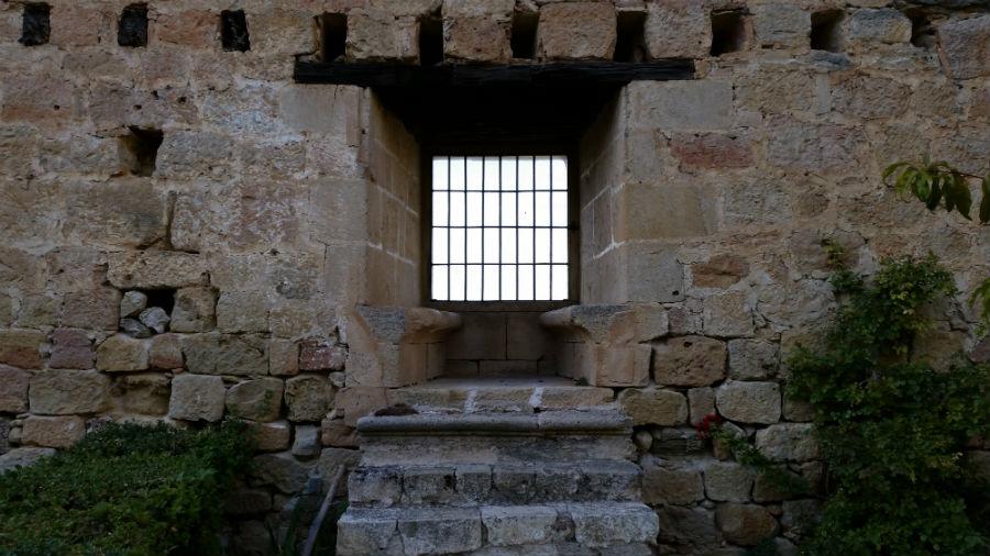 Ventana del Castillo de Pedraza