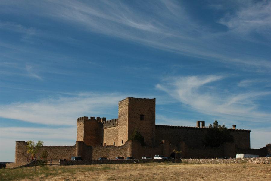 Vistas del Castillo de Pedraza