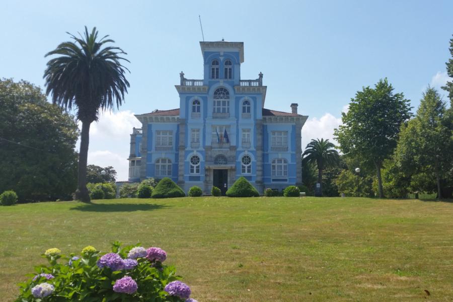 Casa indiana de Colombres, en Asturias