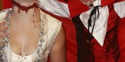 Dama decapitada y vampiro