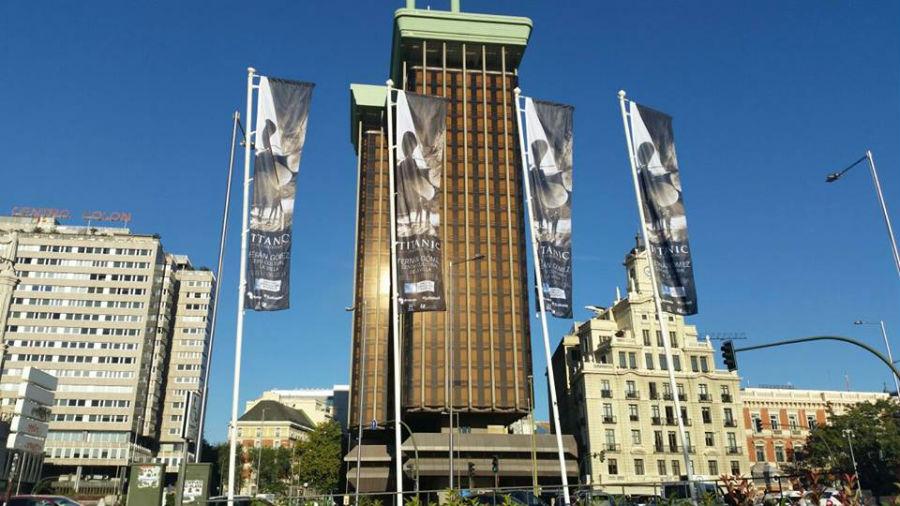Exposición sobre el Titanic en el Centro Cultural de la Villa de Madrid
