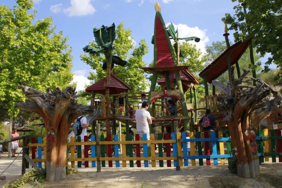 Parque infantil de Faunia.