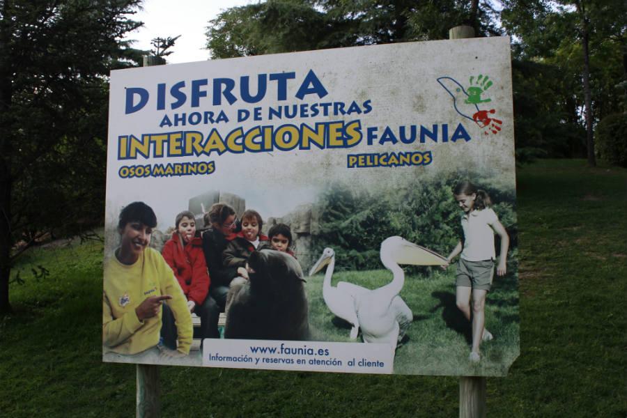 Faunia organiza actividades para que los niños puedan interactuar con animales