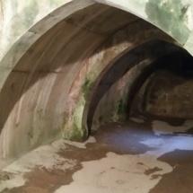 Interior del aljibe del Castillo de Pedraza