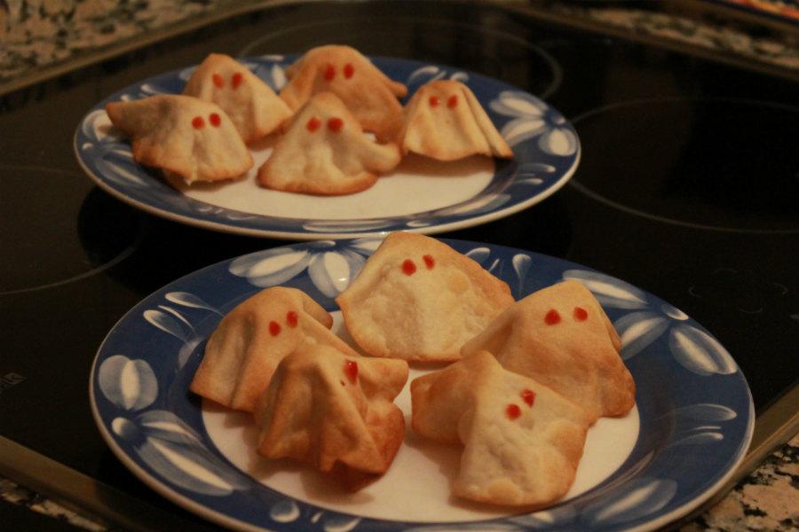 Fantasmas rellenos de Halloween