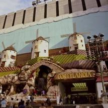 Instalación de Cortylandia 1989