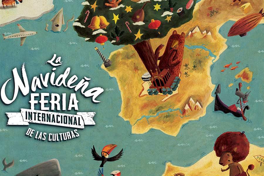 Cartel de la Feria Internacional de las Culturas 2016