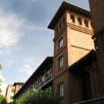 Torreón de la histórica Residencia de Estudiantes